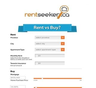 RentSeeker.ca-Rent-or-Buy-Calculator